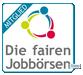 Bild welches zeigt, dass Jobruf ein Mitglied der fairen Jobbörsen ist.